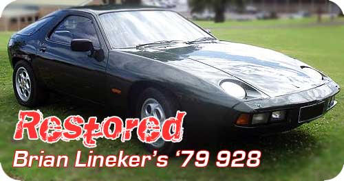 RESTORED - Brian Lineker's '79 Oak green metallic 928